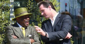 Willie Brown and Gavin Newsom